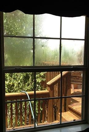old builder grade window