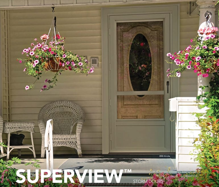 A Storm Door Customized To Our Highest Standards. Each Door Has Its Unique  Features, Styles And Colors. Start With One Of Our Five Styles And Start ...