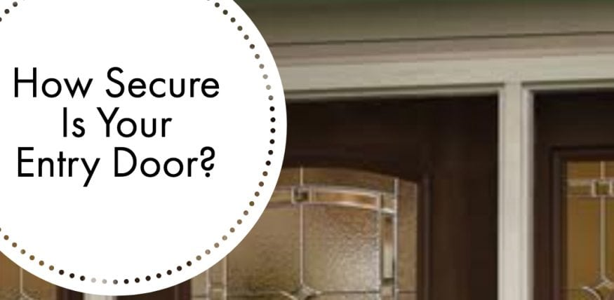 Entry Door Security Conservation Construction Of Texas