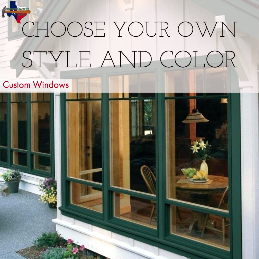Window Finishes And Colors