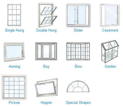 Diffe Types Of Replacement Windows